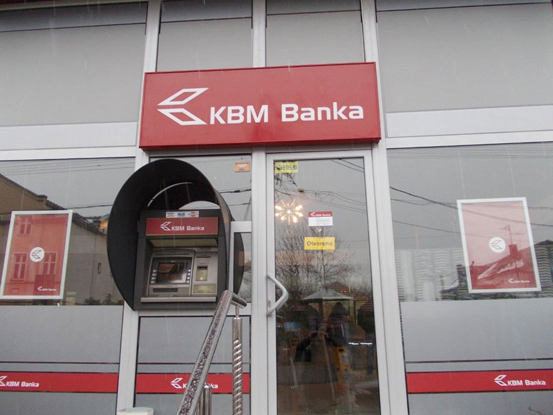 Svetleca reklama Light box - KBM banka